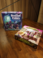 Potion Explosion ja Stuffed Fables peluutus