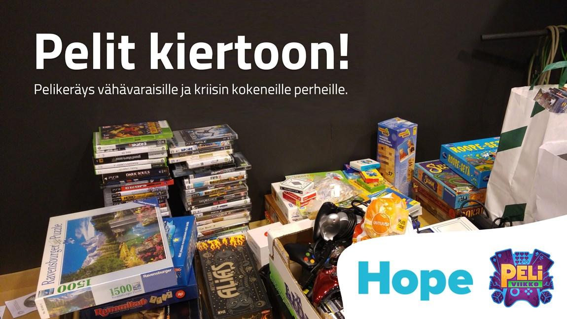 Pelit kiertoon! -pelikeräys Kansallisessa audiovisuaalisessa instituutissa vuonna 2016.